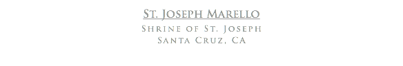 St. Joseph Marello