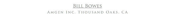 Bill Bowes
